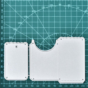 Wave Envelope Cutting Dies