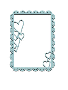 Heart Decor Frame Dies