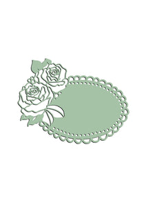 Lace Rose Decoration Dies