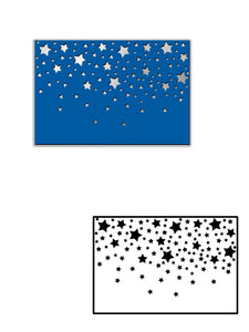 Starry Sky Backgroud Dies