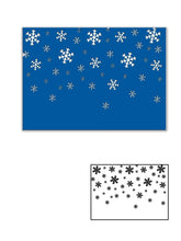 Load image into Gallery viewer, Snowflake Embossing  Background Dies