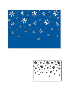 Snowflake Embossing  Background Dies