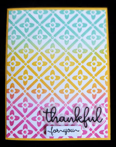 Reusable Clover Pattern Layering Stencils