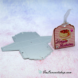 Taper Shaped Treat Box Dies