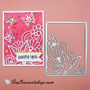 Lace Flower Frame Cutting Dies
