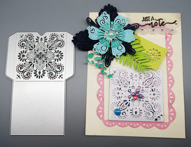 Lace Hollow Envelop Dies