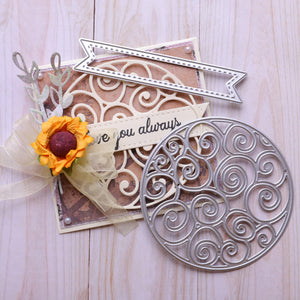Hollow Decor Circle Cutting Dies