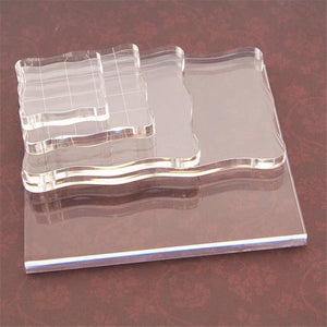Acrylic  Blocks /Stamp Handle
