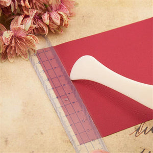 DIY Handmade Card Tools Plastics Crease Knife Origami Knife For Paper Card Making