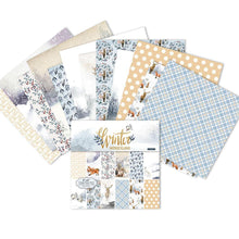 Load image into Gallery viewer, (2 Types) 6-Inch DIY  Scrapbook & Cardmaking Christmas Background Paper (24PCS)