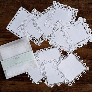 DIY Scrapbooking Lace Paper
