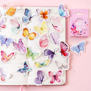 Butterfly Garden Series Box-packed Stickers<46pcs>