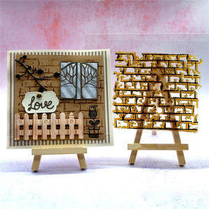 Wooden Mini Easel Stand Display Holder