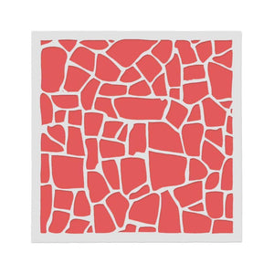 Irregular Shape Hollow Painting Template Layering Stencil