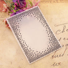 Load image into Gallery viewer, Dot Border Plastic Embossing Folder