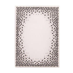 Dot Border Plastic Embossing Folder for Scrapbook DIY Album Card Tool Plastic Template Folders