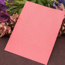 Load image into Gallery viewer, Stripe Pattren Plastic Embossing Folder