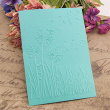 Load image into Gallery viewer, Dandelion Plastic Embossing Folder