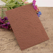 Load image into Gallery viewer, Flower Branch Decor Pattern Plastic Embossing Folder