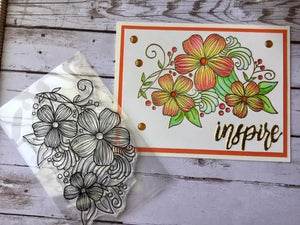 Plant Leaf Flowers Stamps