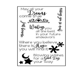 Encouragement Sentences Stamps