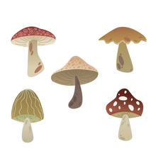 Load image into Gallery viewer, Mushroom Stamps