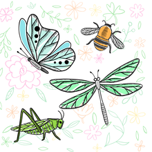 Load image into Gallery viewer, Insect Stamps