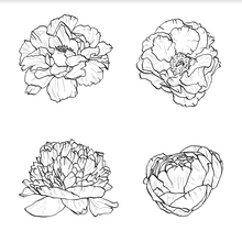 Load image into Gallery viewer, Flower in Blooming Stamps