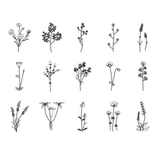 Load image into Gallery viewer, Branches of Flowers Stamps