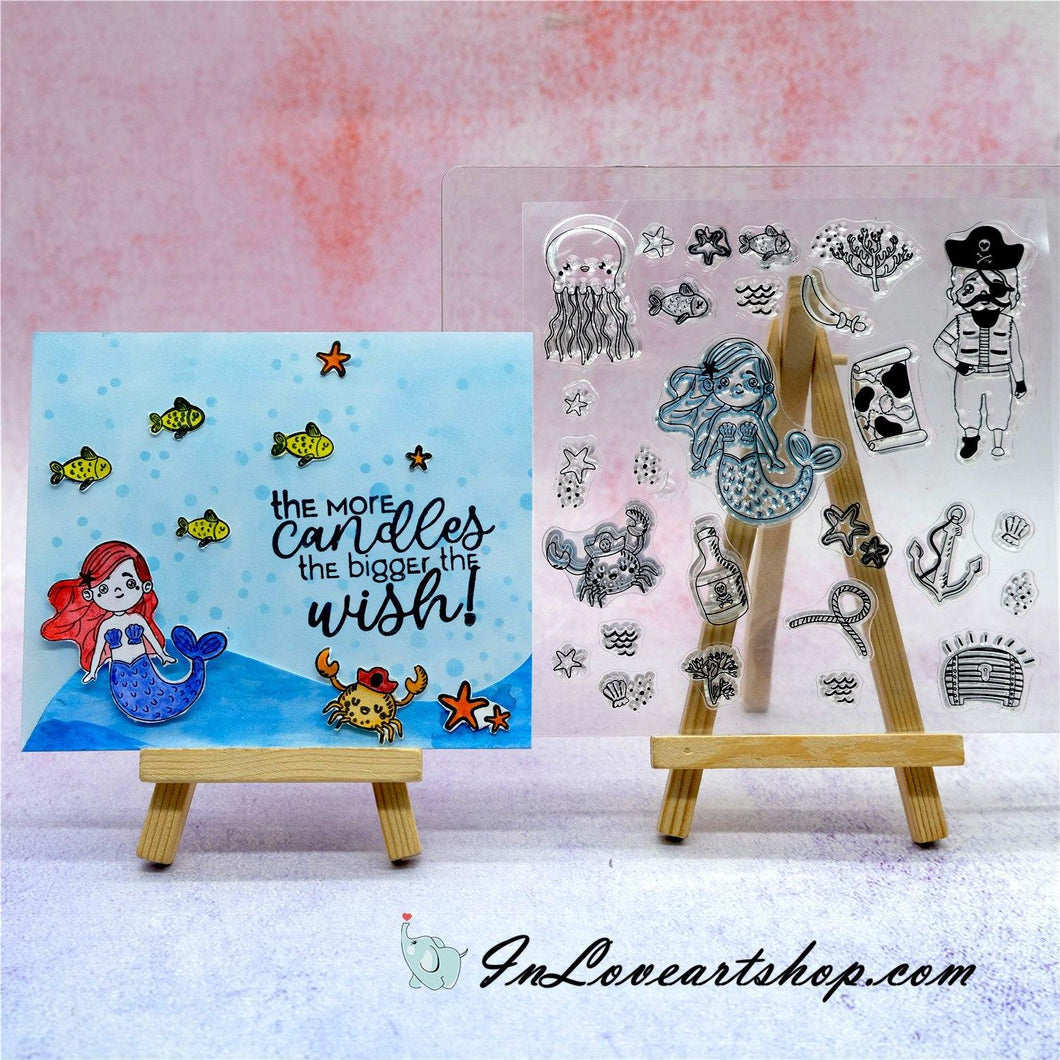 Nautical Adventure Series Stamps
