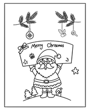 Load image into Gallery viewer, Santa Claus Stamps