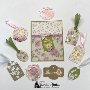 Stitched Note Tags Dies