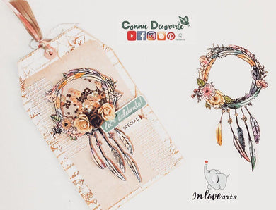 Wreath Dreamcatcher Stamps