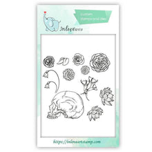 Load image into Gallery viewer, Diyartstudio clear stamps / China Halloween Clear Stamps