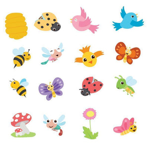 Eastshape Cute Animal Plant Stamps