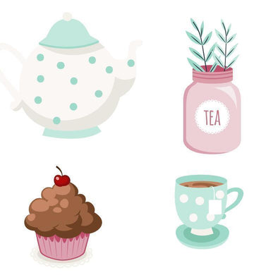 Eastshape Teapot Cup Cake Stamps