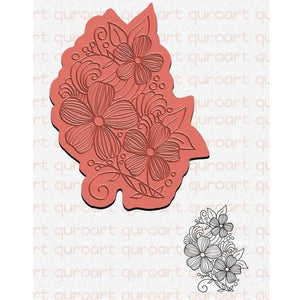 Eastshape United States Plant Leaf Flowers Stamps