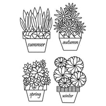 Load image into Gallery viewer, Eastshape United States Seasons Flowers Stamps
