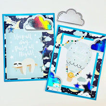 Load image into Gallery viewer, Winter Series Greetings Words Stamps