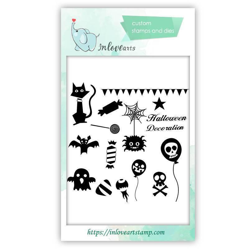 Halloween Clear Stamps