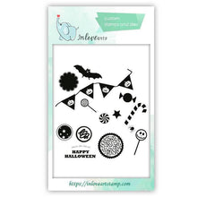 Load image into Gallery viewer, Inloveartstamp clear stamps / China Halloween Clear Stamps