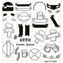 Load image into Gallery viewer, Oktoberfest Clear Stamps