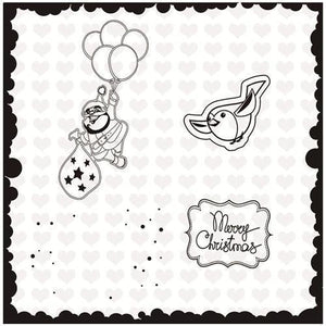 Inloveartstamp cutting dies / United States Christmas Stamps Dies