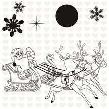 Load image into Gallery viewer, Inloveartstamp Only Cutting Die / United States Christmas Stamps  Dies