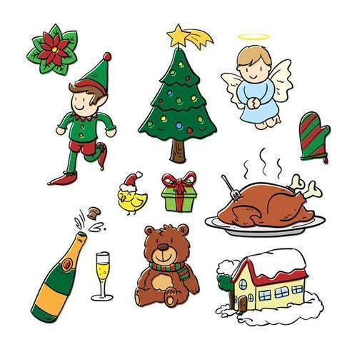 Inloveartstamp Stamps and Dies Christmas Stamps Dies