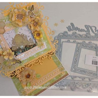 Large Size Lace Background Board  Dies