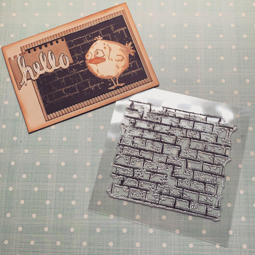Wall Background Stamps