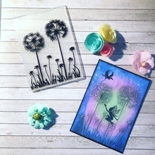 Load image into Gallery viewer, 1PCS Dandelion Plastic Embossing Folder