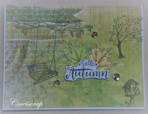 Lazy Autumn Days Stamps