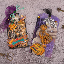 Load image into Gallery viewer, Halloween Series Key & Lock Decor Dies